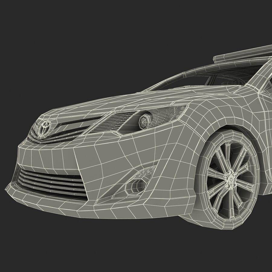 도요타 캠리 2012 페이스 카 royalty-free 3d model - Preview no. 87