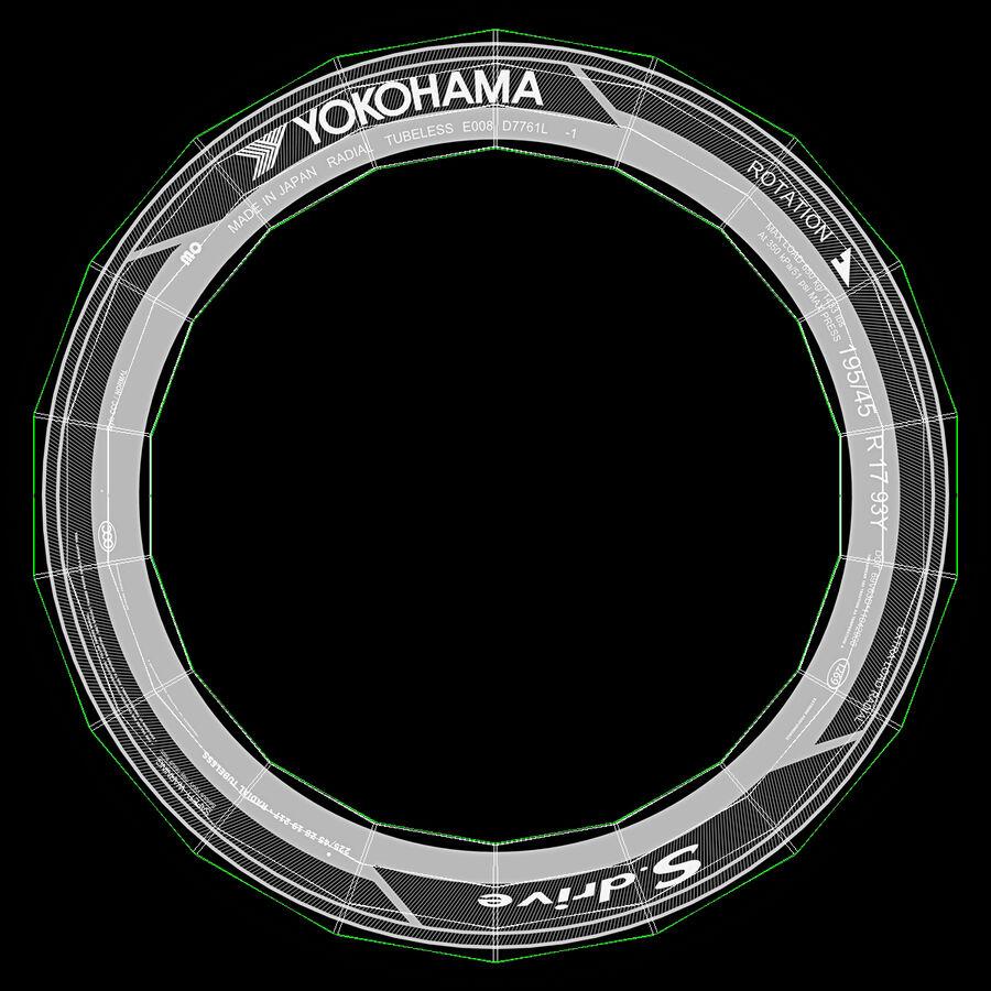 도요타 캠리 2012 페이스 카 royalty-free 3d model - Preview no. 101