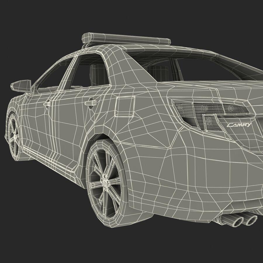 도요타 캠리 2012 페이스 카 royalty-free 3d model - Preview no. 80