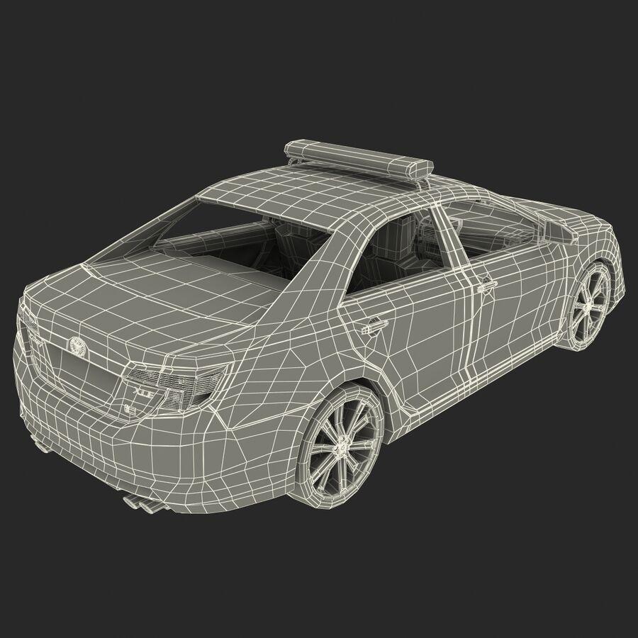 도요타 캠리 2012 페이스 카 royalty-free 3d model - Preview no. 76