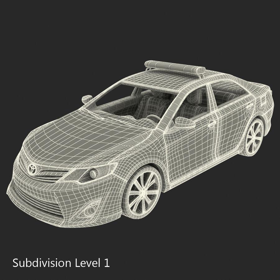도요타 캠리 2012 페이스 카 royalty-free 3d model - Preview no. 96