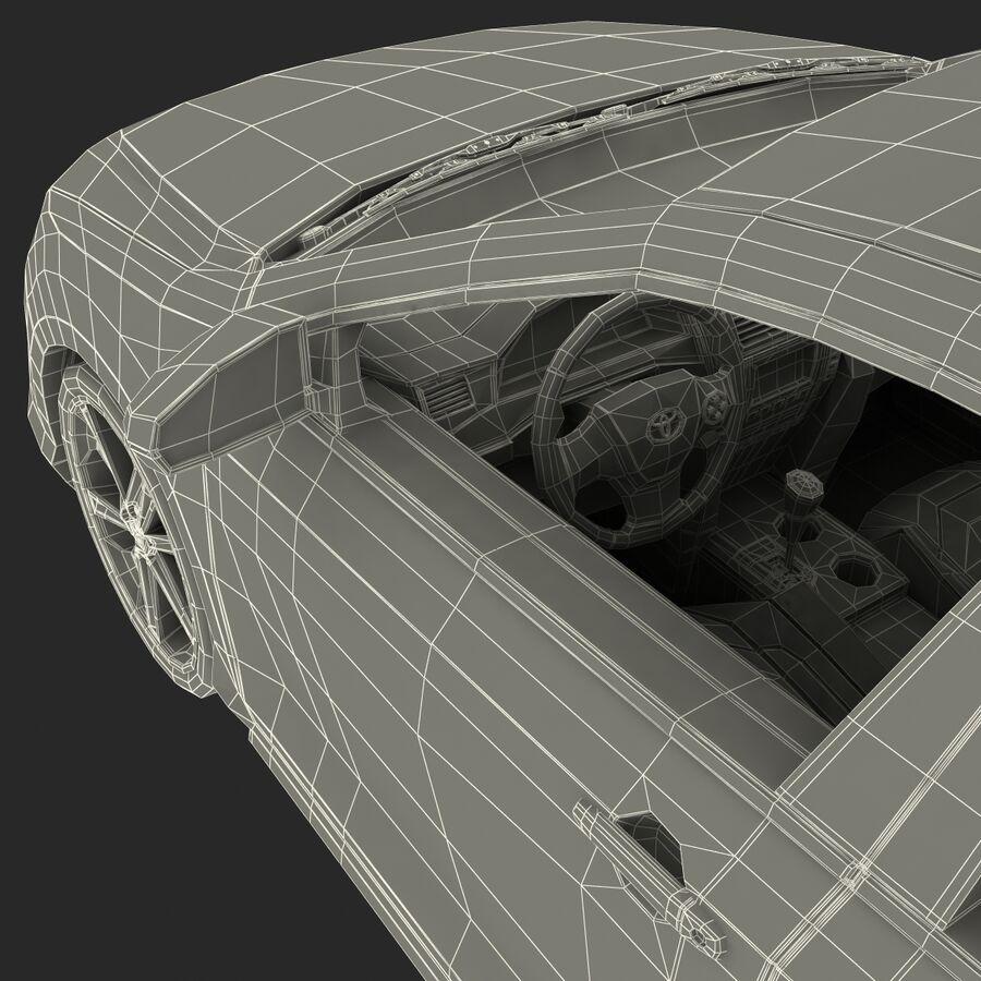 도요타 캠리 2012 페이스 카 royalty-free 3d model - Preview no. 89