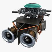 Silnik helikoptera 3 3d model