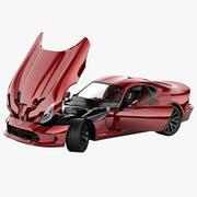 Dodge SRT Viper 2013 Rigged 3d model