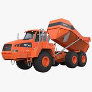 Gelede vrachtwagen Doosan Moxy MT41 opgetuigd 3d model
