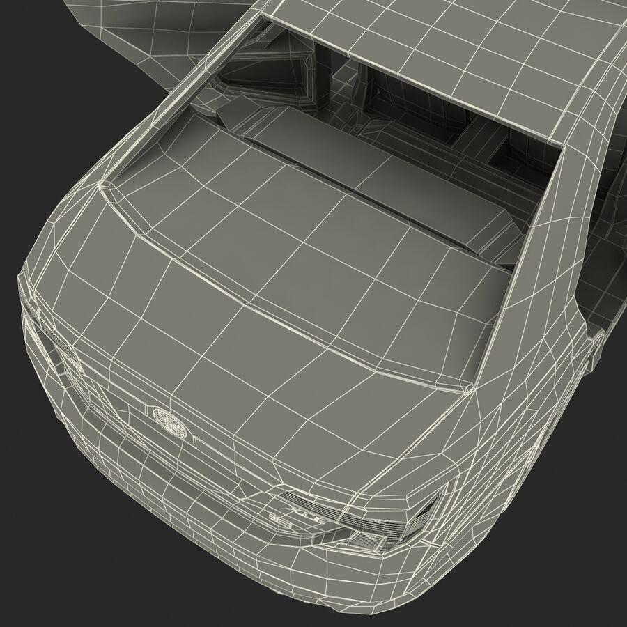 Toyota Camry 2012 Pace Car aparejado royalty-free modelo 3d - Preview no. 86