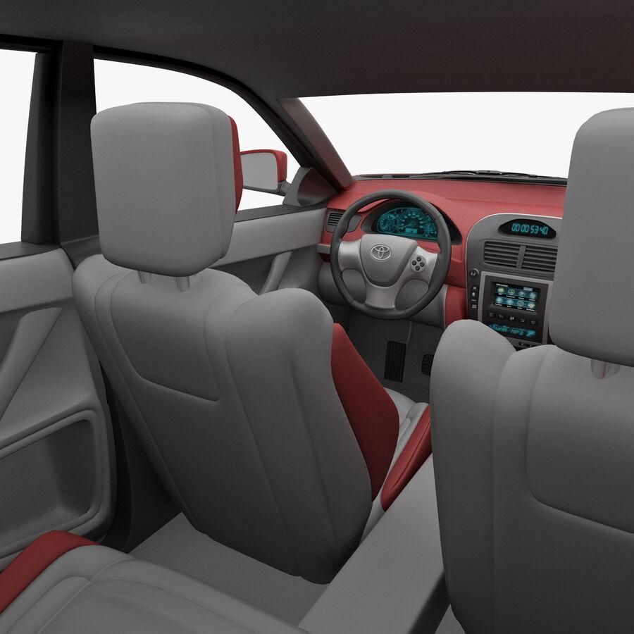 Toyota Camry 2012 Pace Car aparejado royalty-free modelo 3d - Preview no. 32