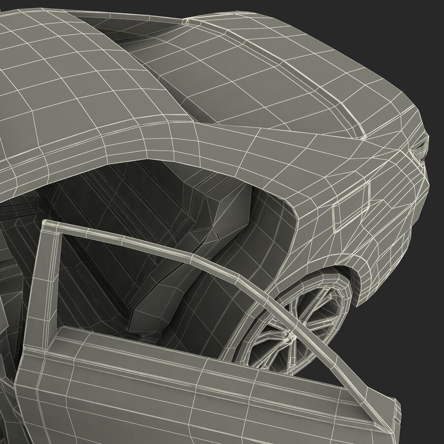Toyota Camry 2012 Pace Car aparejado royalty-free modelo 3d - Preview no. 88