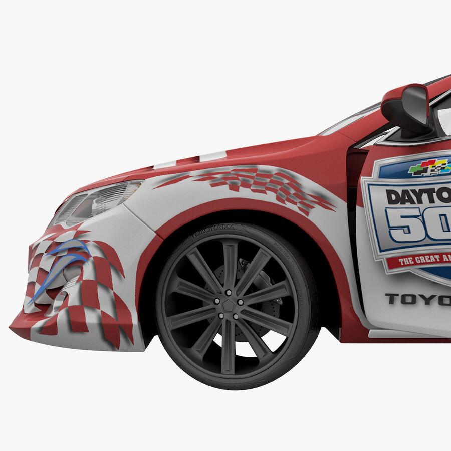 Toyota Camry 2012 Pace Car aparejado royalty-free modelo 3d - Preview no. 47