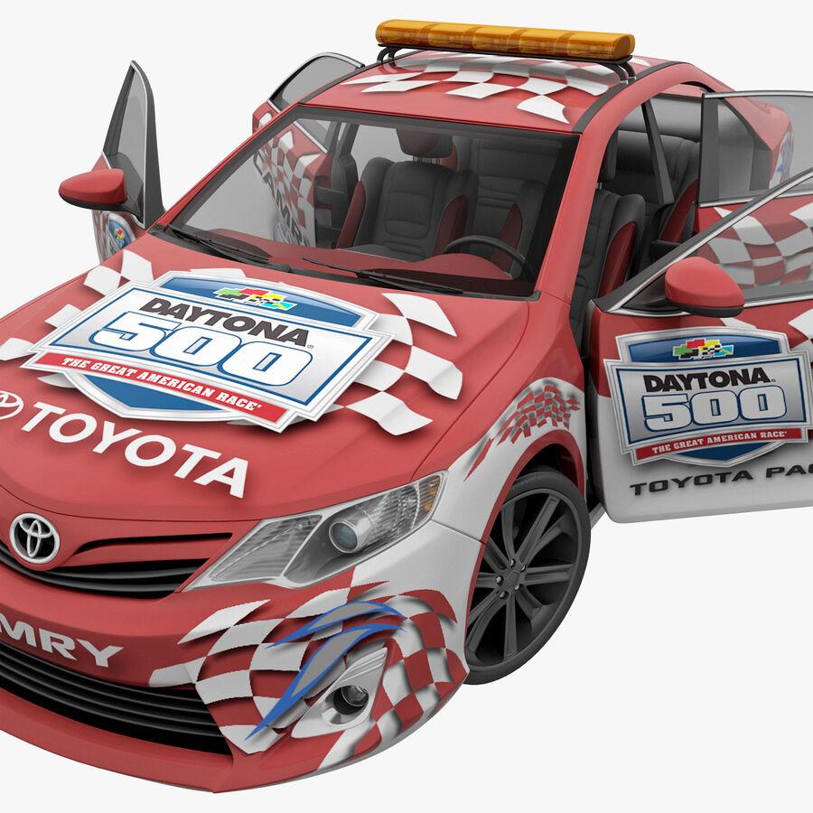 Toyota Camry 2012 Pace Car aparejado royalty-free modelo 3d - Preview no. 43