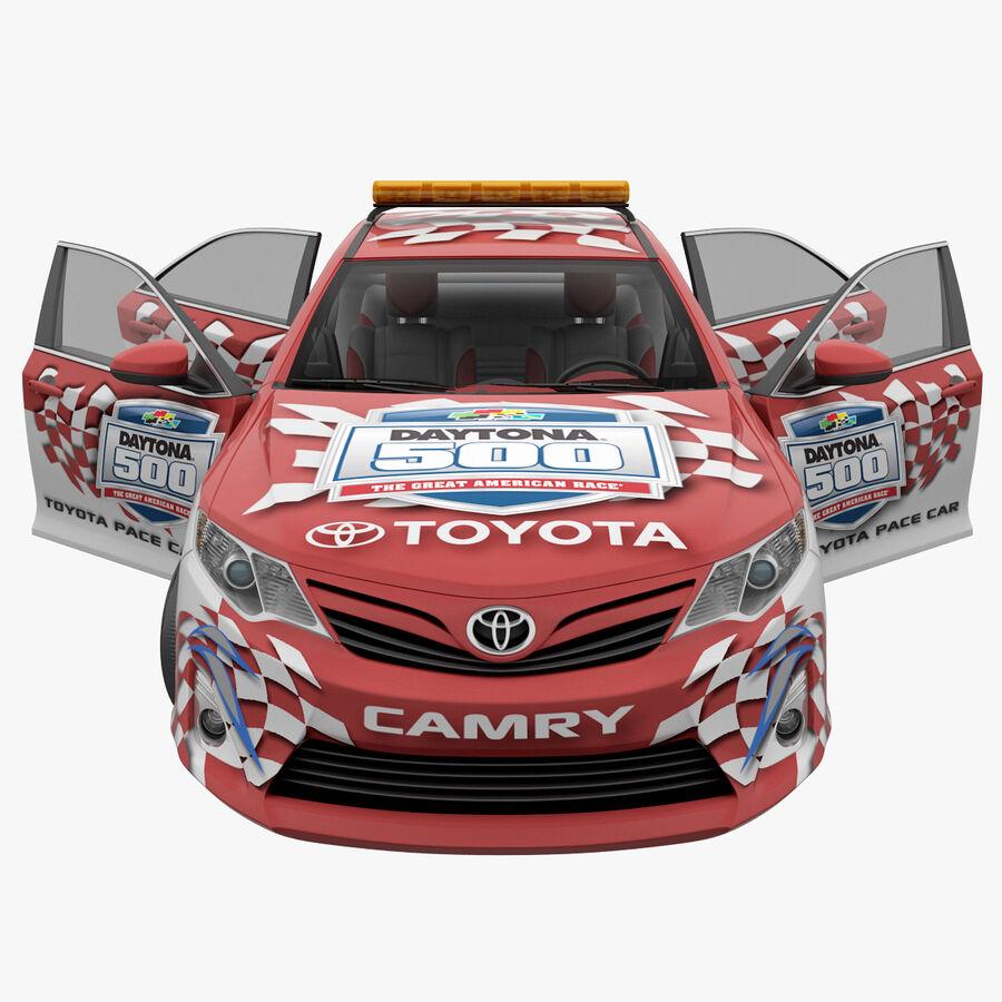 Toyota Camry 2012 Pace Car aparejado royalty-free modelo 3d - Preview no. 37