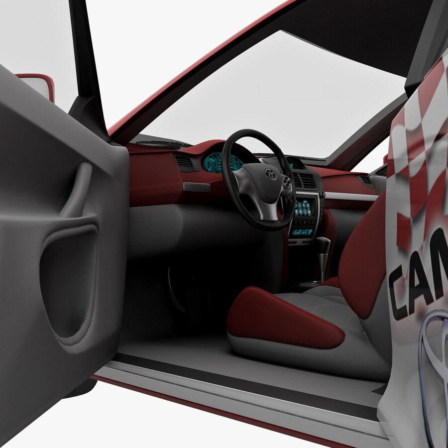 Toyota Camry 2012 Pace Car aparejado royalty-free modelo 3d - Preview no. 70