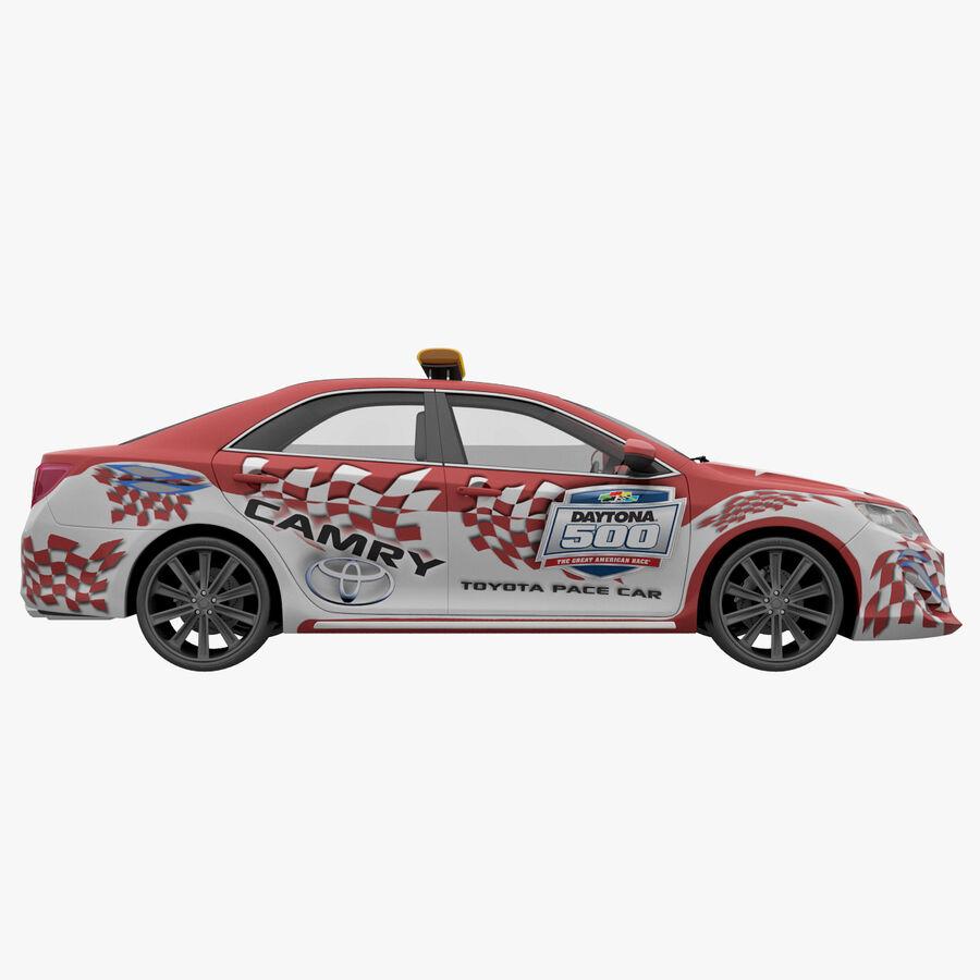 Toyota Camry 2012 Pace Car aparejado royalty-free modelo 3d - Preview no. 6
