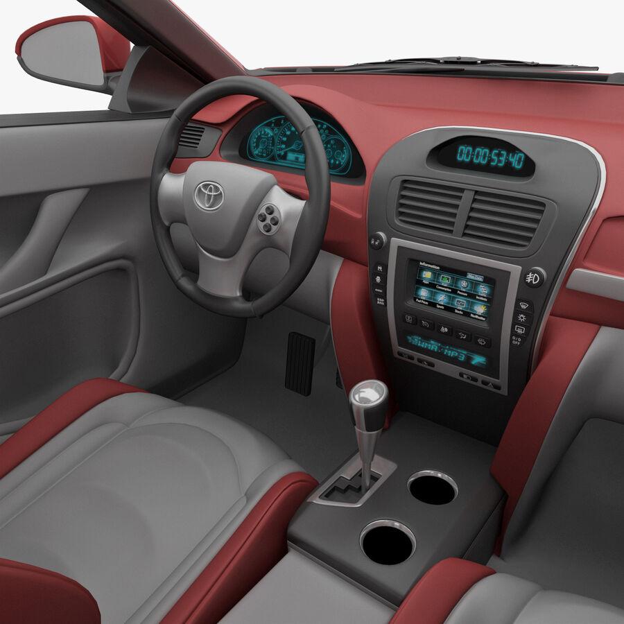 Toyota Camry 2012 Pace Car aparejado royalty-free modelo 3d - Preview no. 24