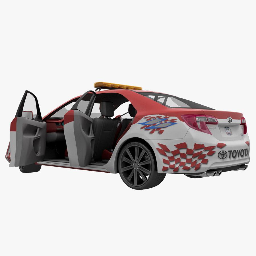 Toyota Camry 2012 Pace Car aparejado royalty-free modelo 3d - Preview no. 53