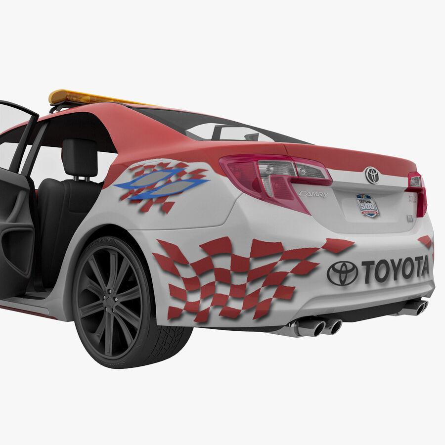Toyota Camry 2012 Pace Car aparejado royalty-free modelo 3d - Preview no. 46