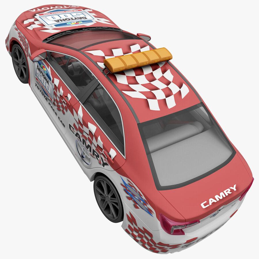 Toyota Camry 2012 Pace Car aparejado royalty-free modelo 3d - Preview no. 16