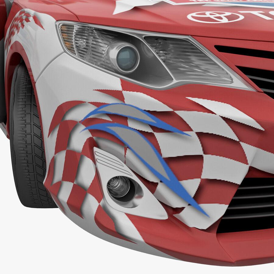 Toyota Camry 2012 Pace Car aparejado royalty-free modelo 3d - Preview no. 72