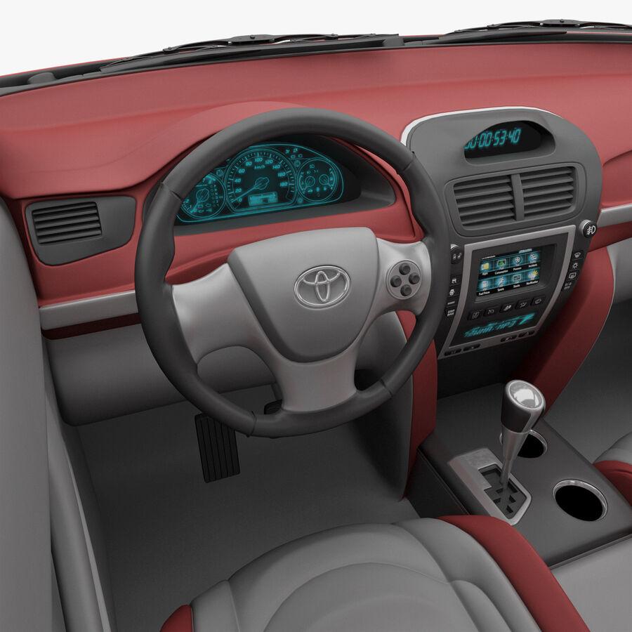 Toyota Camry 2012 Pace Car aparejado royalty-free modelo 3d - Preview no. 23
