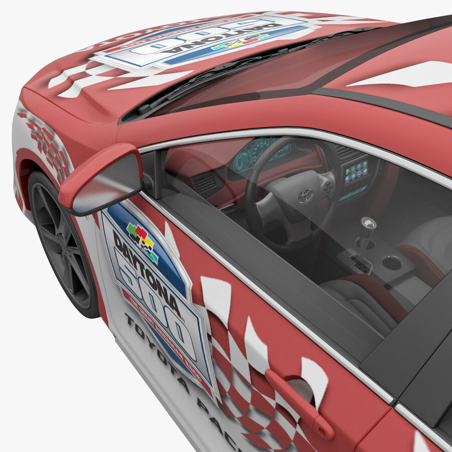 Toyota Camry 2012 Pace Car aparejado royalty-free modelo 3d - Preview no. 20