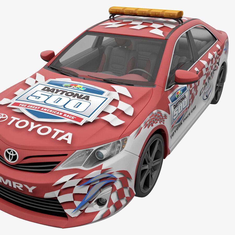 Toyota Camry 2012 Pace Car aparejado royalty-free modelo 3d - Preview no. 9
