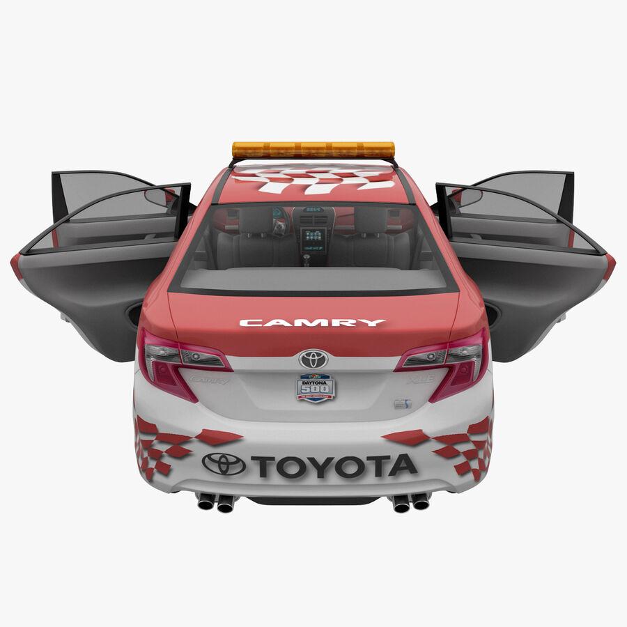 Toyota Camry 2012 Pace Car aparejado royalty-free modelo 3d - Preview no. 39