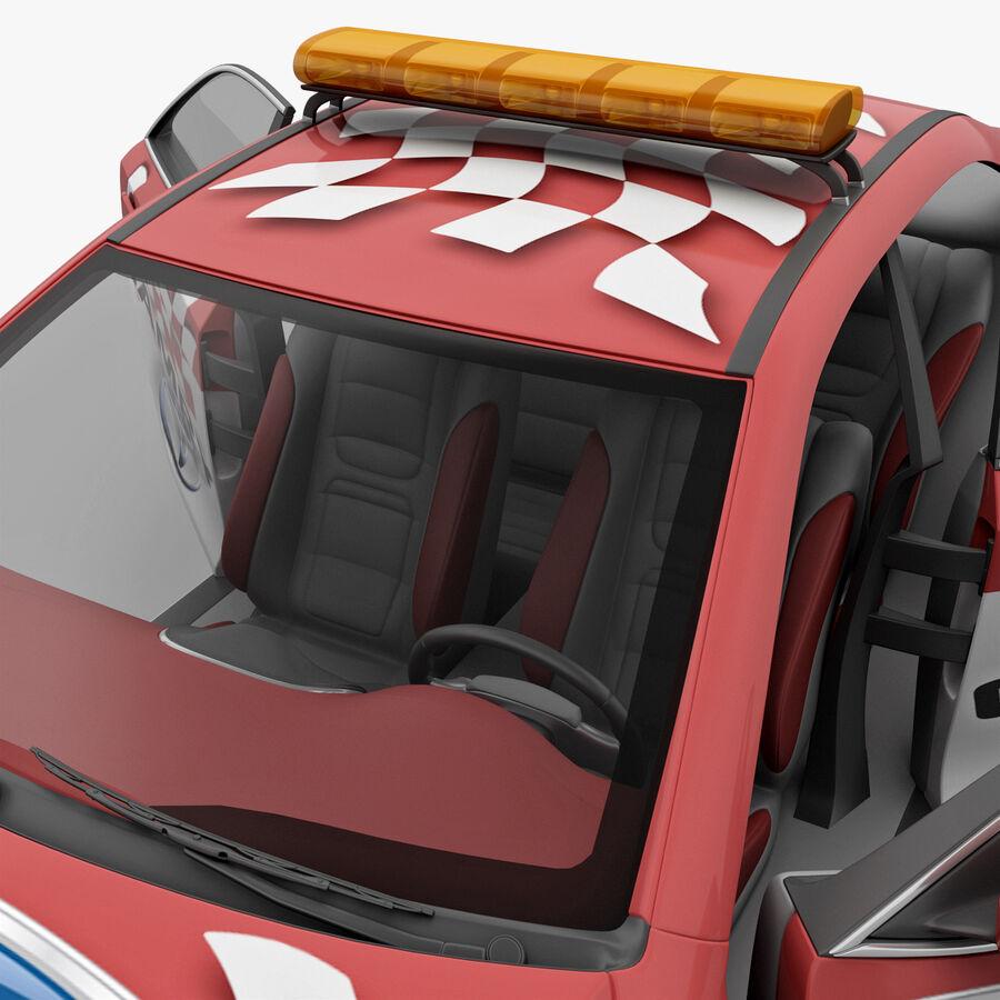 Toyota Camry 2012 Pace Car aparejado royalty-free modelo 3d - Preview no. 73