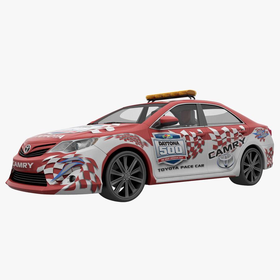 Toyota Camry 2012 Pace Car aparejado royalty-free modelo 3d - Preview no. 14