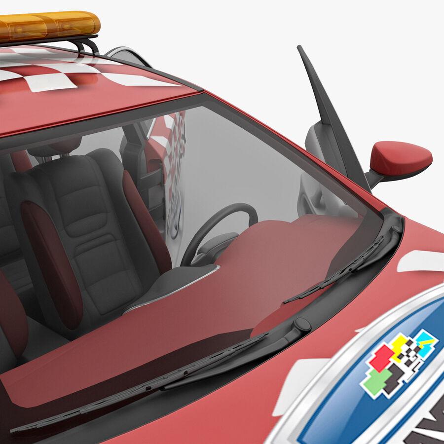 Toyota Camry 2012 Pace Car aparejado royalty-free modelo 3d - Preview no. 60