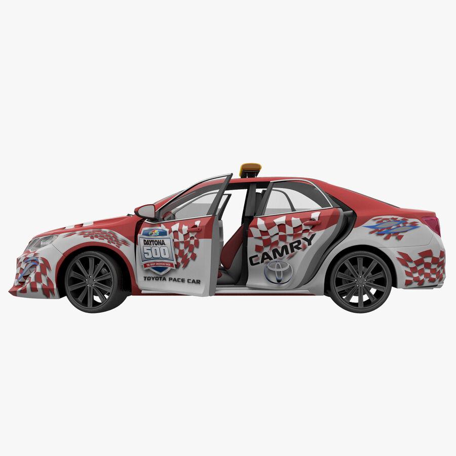 Toyota Camry 2012 Pace Car aparejado royalty-free modelo 3d - Preview no. 36