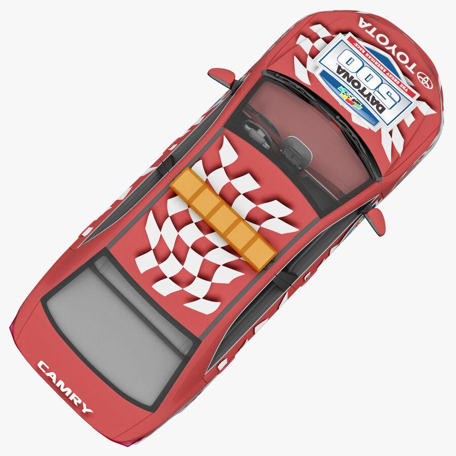 Toyota Camry 2012 Pace Car aparejado royalty-free modelo 3d - Preview no. 8
