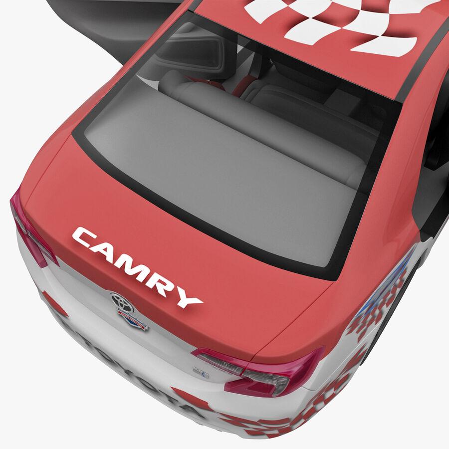 Toyota Camry 2012 Pace Car aparejado royalty-free modelo 3d - Preview no. 64