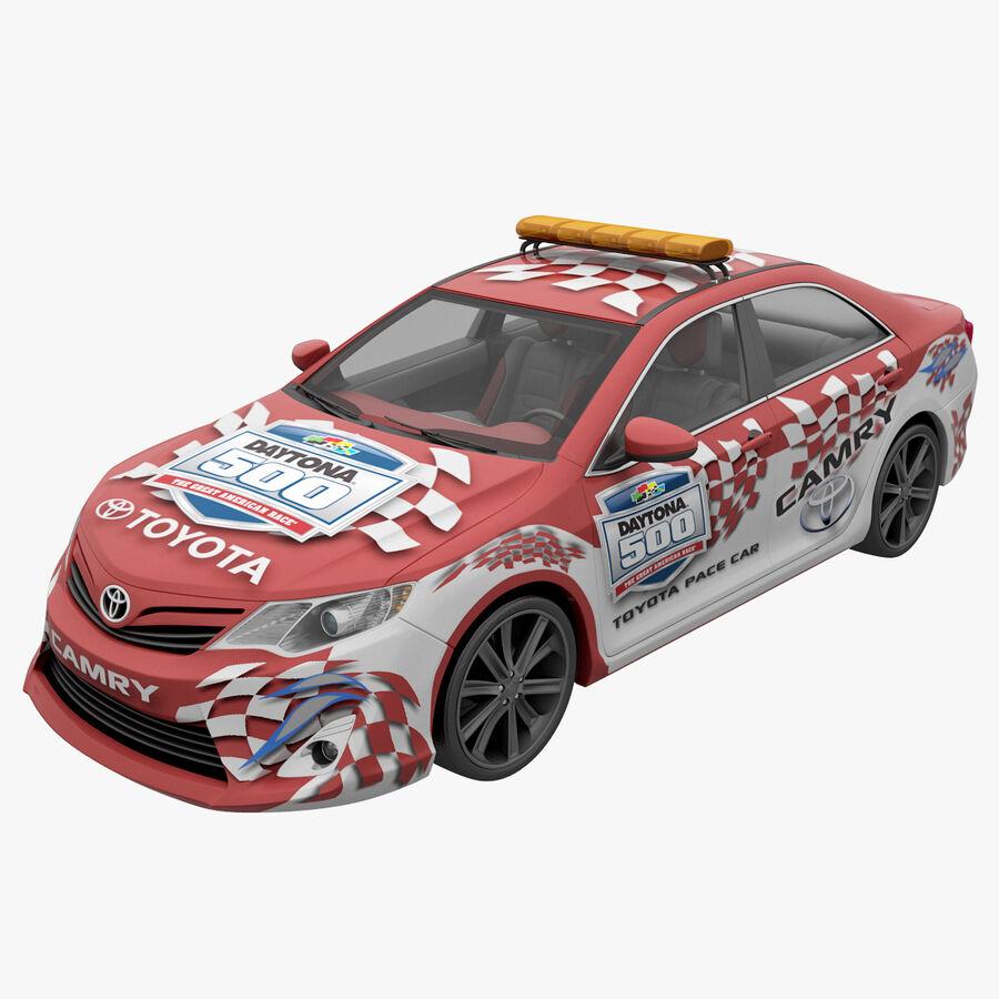 Toyota Camry 2012 Pace Car aparejado royalty-free modelo 3d - Preview no. 4