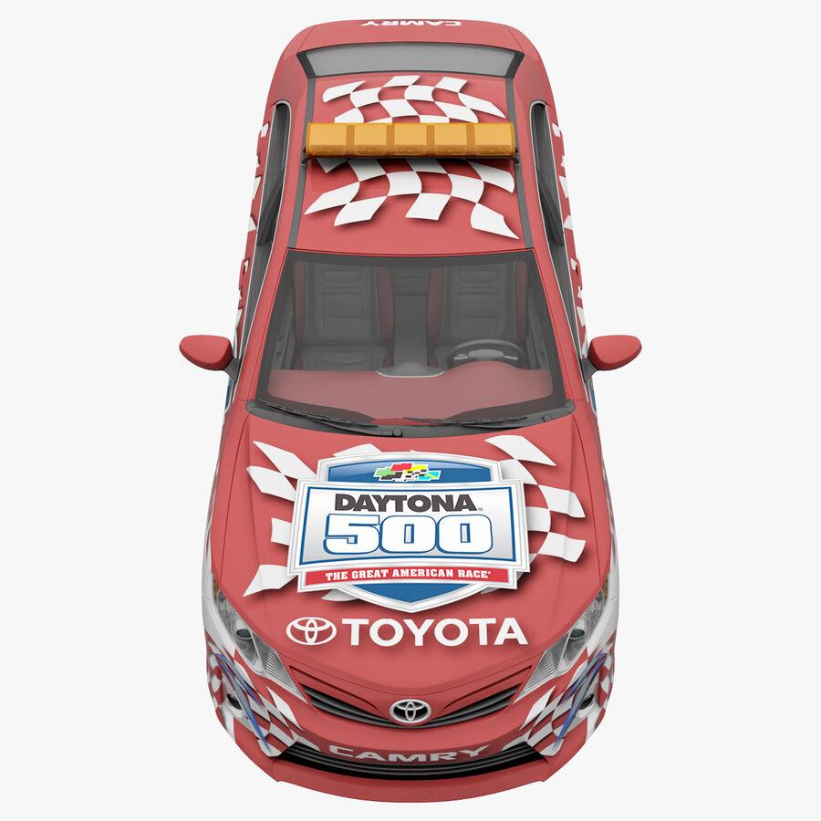 Toyota Camry 2012 Pace Car aparejado royalty-free modelo 3d - Preview no. 7