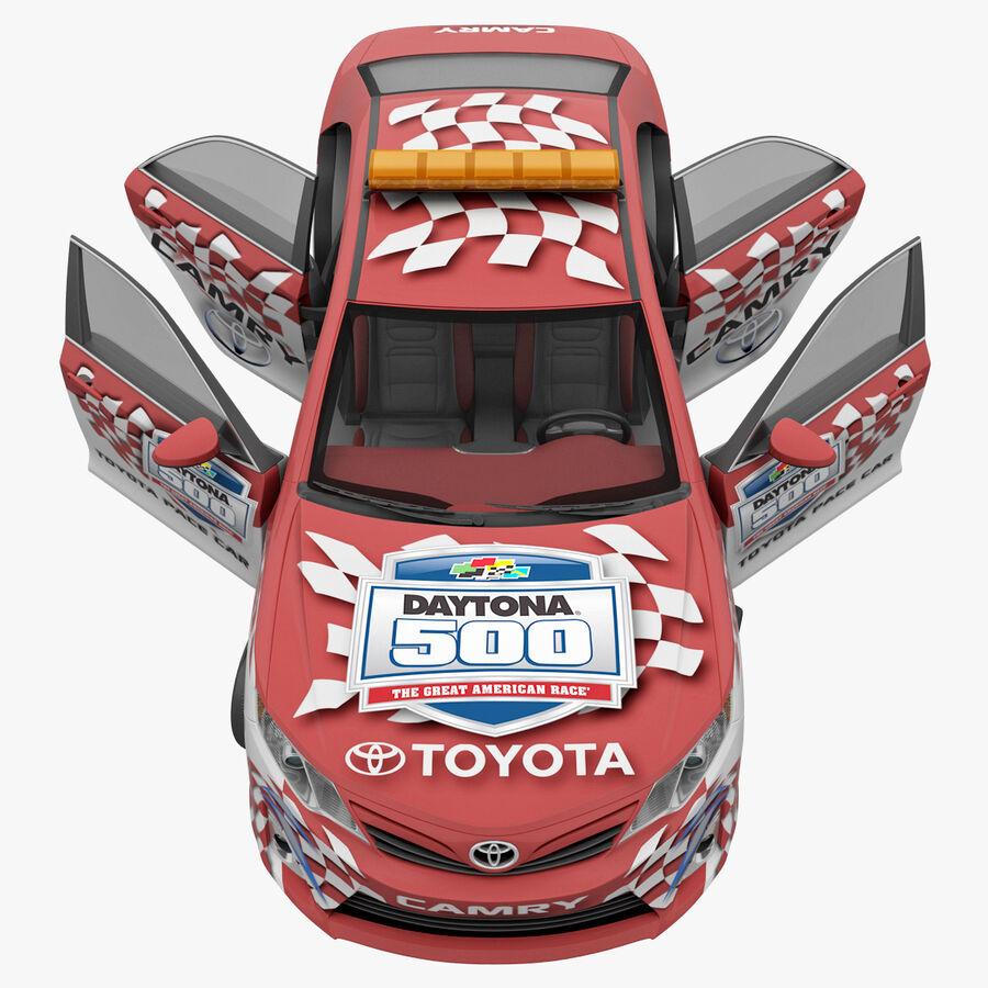 Toyota Camry 2012 Pace Car aparejado royalty-free modelo 3d - Preview no. 38