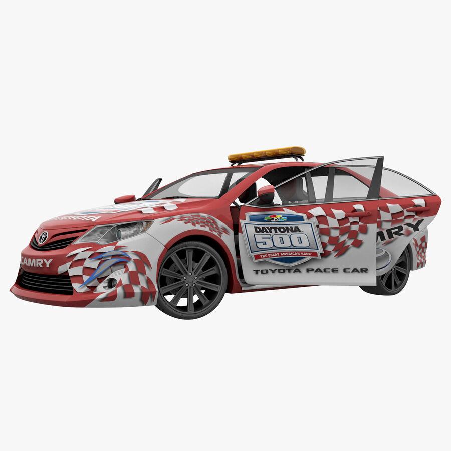 Toyota Camry 2012 Pace Car aparejado royalty-free modelo 3d - Preview no. 52