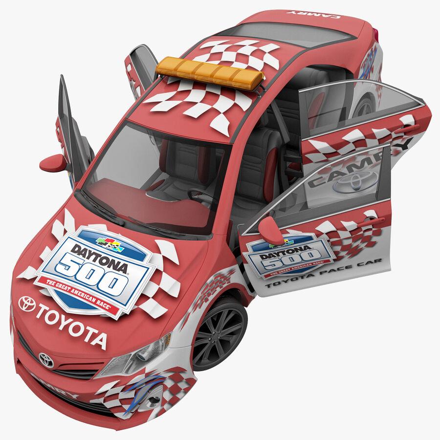 Toyota Camry 2012 Pace Car aparejado royalty-free modelo 3d - Preview no. 57