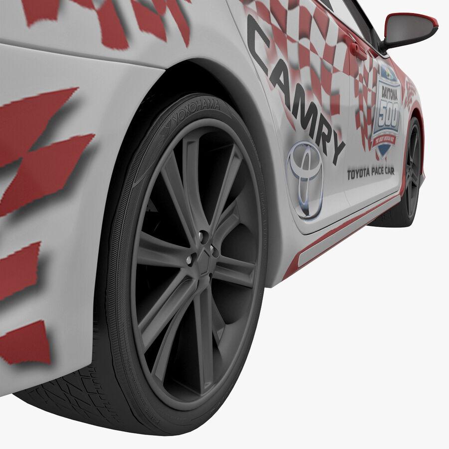 Toyota Camry 2012 Pace Car aparejado royalty-free modelo 3d - Preview no. 13