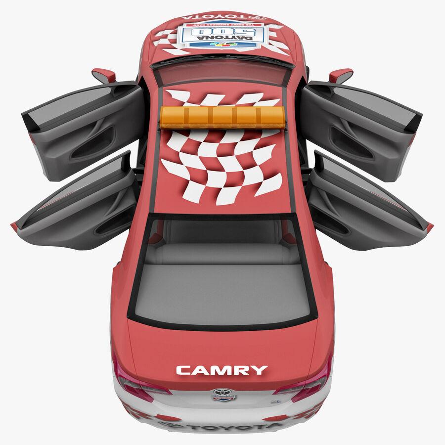 Toyota Camry 2012 Pace Car aparejado royalty-free modelo 3d - Preview no. 40