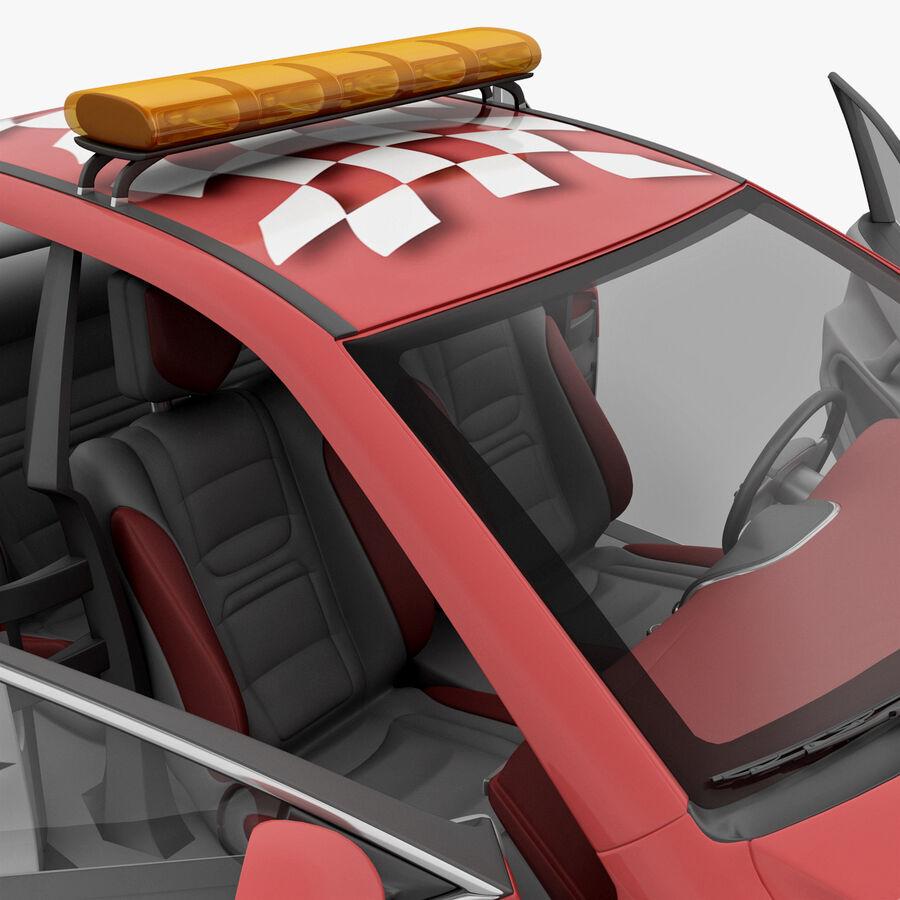 Toyota Camry 2012 Pace Car aparejado royalty-free modelo 3d - Preview no. 74