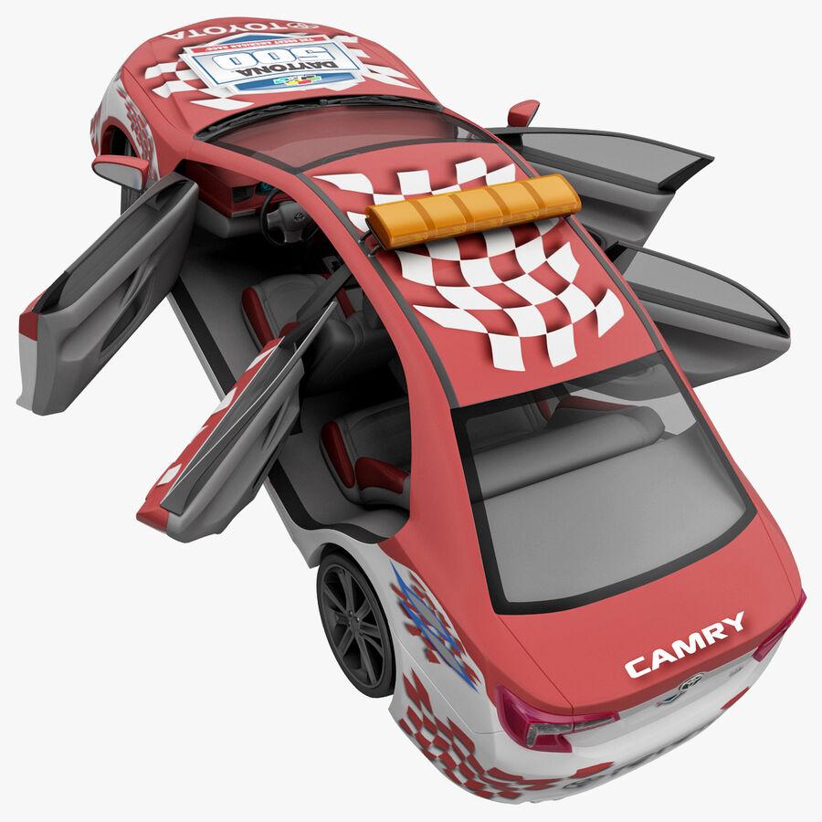 Toyota Camry 2012 Pace Car aparejado royalty-free modelo 3d - Preview no. 56