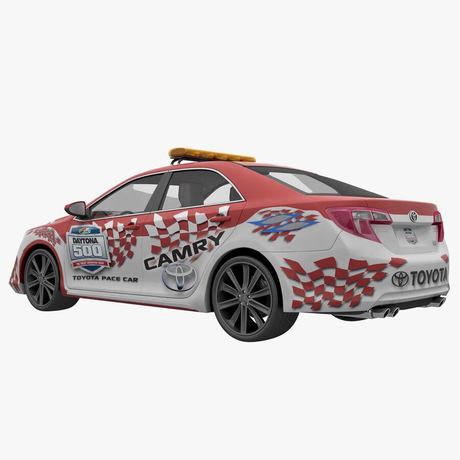 Toyota Camry 2012 Pace Car aparejado royalty-free modelo 3d - Preview no. 15
