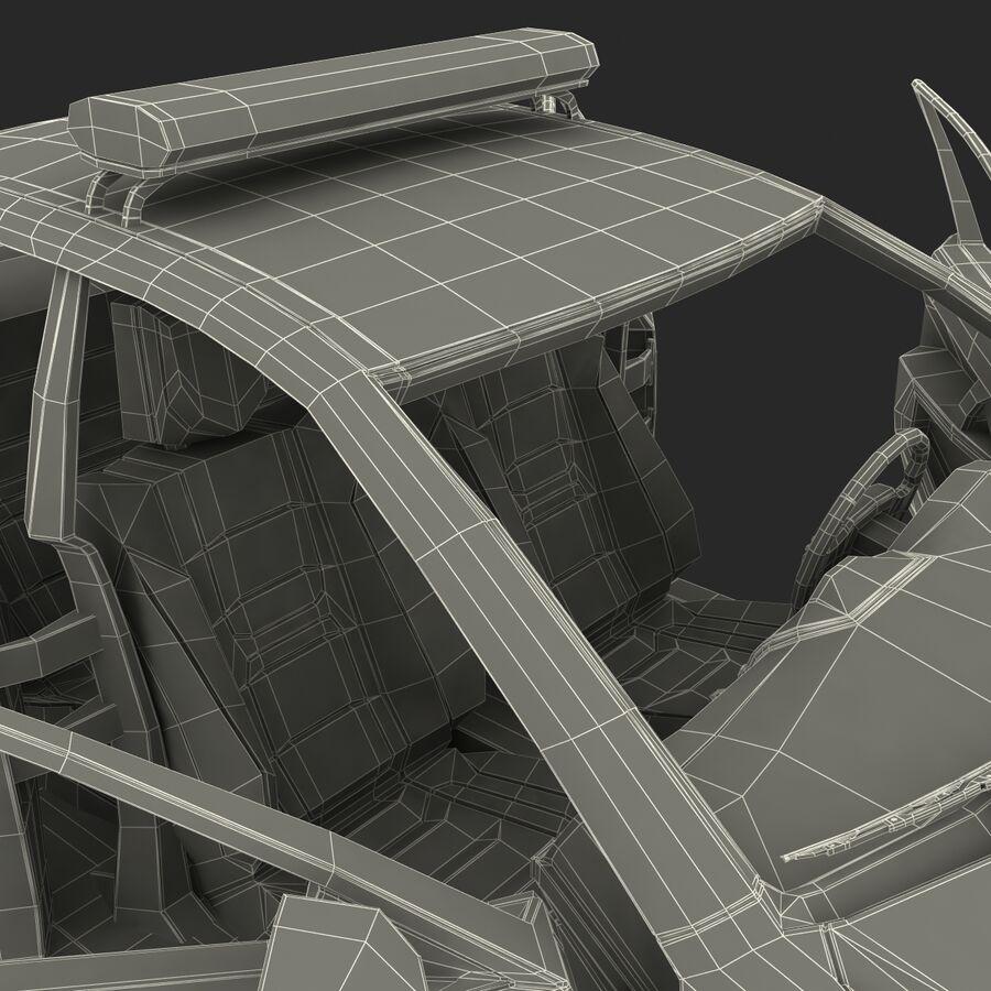 Toyota Camry 2012 Pace Car aparejado royalty-free modelo 3d - Preview no. 95