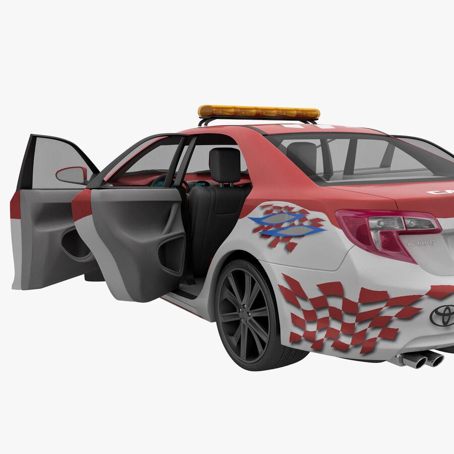 Toyota Camry 2012 Pace Car aparejado royalty-free modelo 3d - Preview no. 50