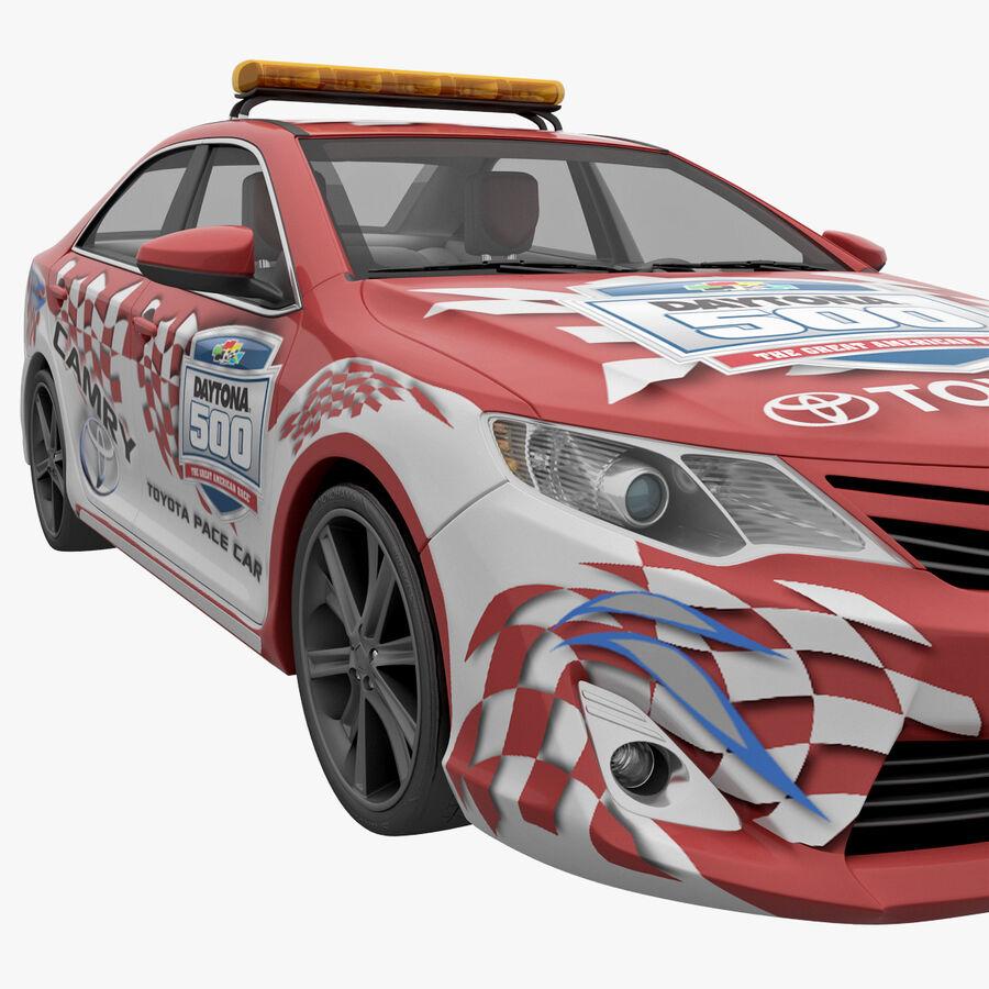 Toyota Camry 2012 Pace Car aparejado royalty-free modelo 3d - Preview no. 11