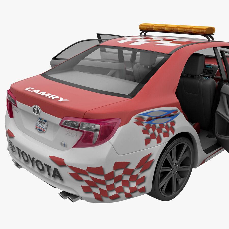 Toyota Camry 2012 Pace Car aparejado royalty-free modelo 3d - Preview no. 45