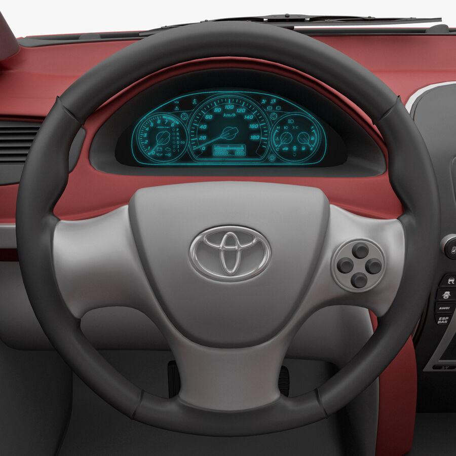 Toyota Camry 2012 Pace Car aparejado royalty-free modelo 3d - Preview no. 28