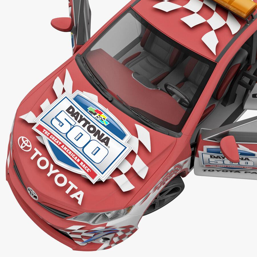 Toyota Camry 2012 Pace Car aparejado royalty-free modelo 3d - Preview no. 48