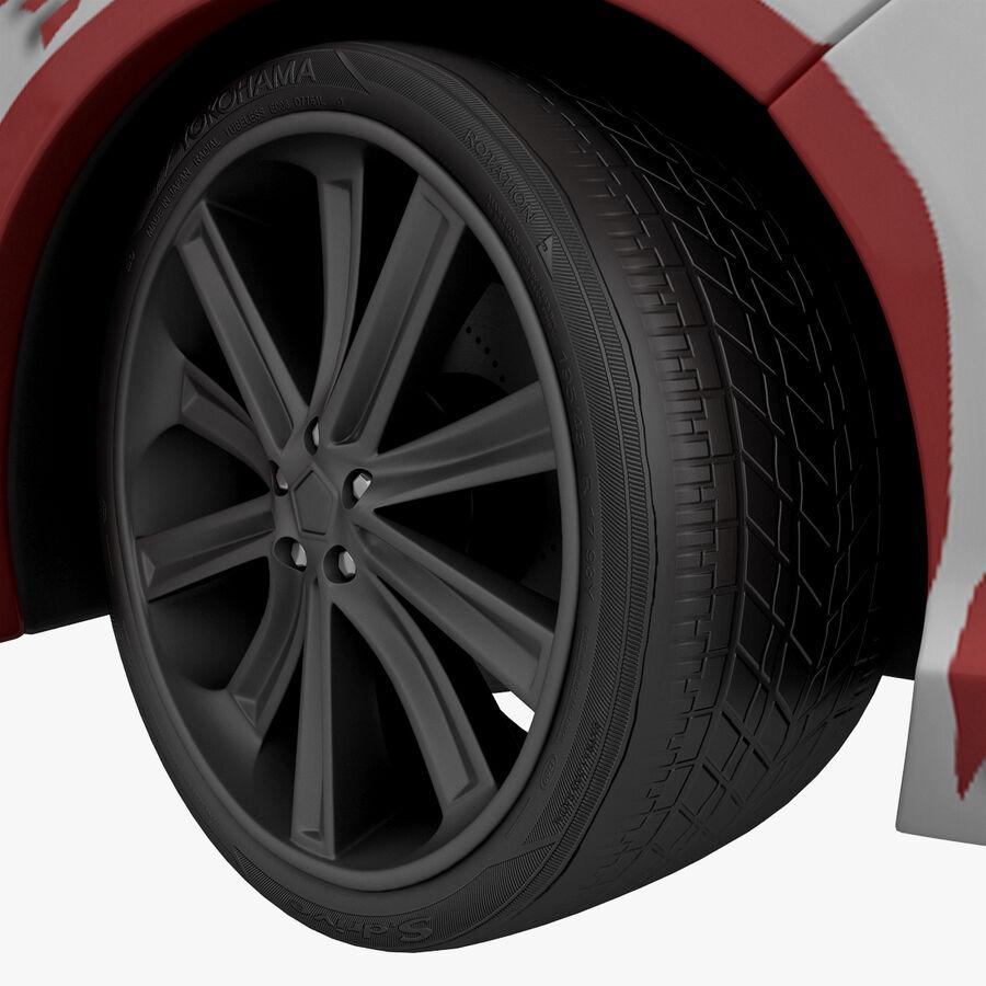 Toyota Camry 2012 Pace Car aparejado royalty-free modelo 3d - Preview no. 61
