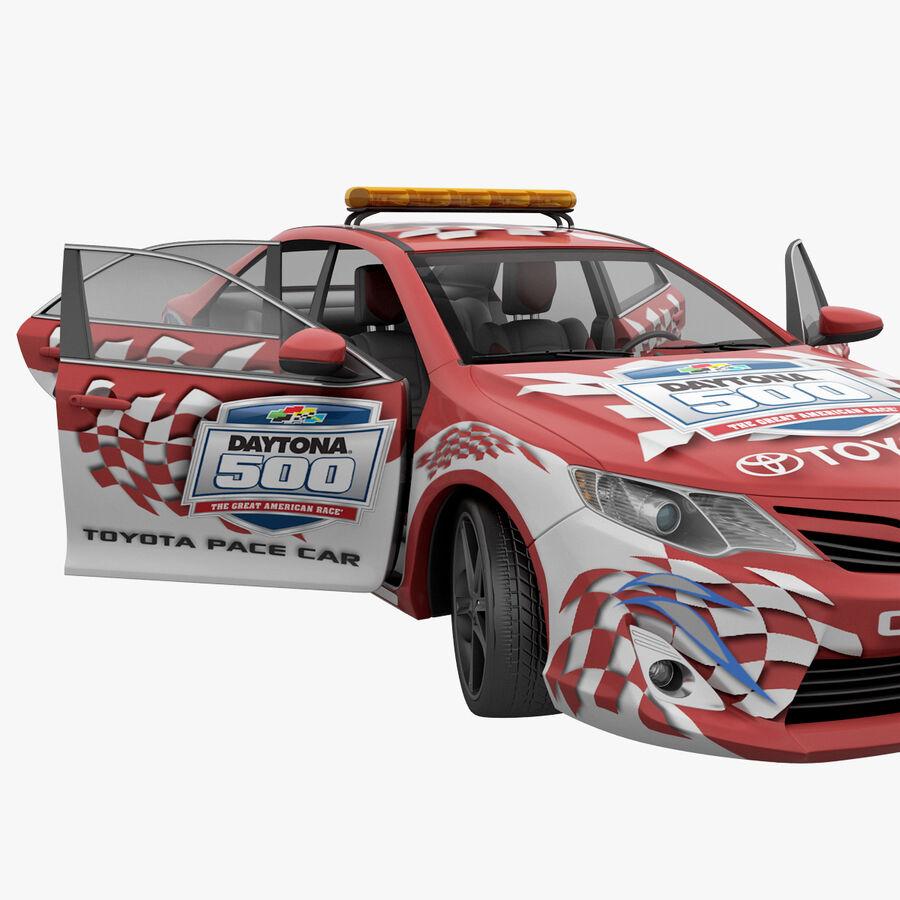 Toyota Camry 2012 Pace Car aparejado royalty-free modelo 3d - Preview no. 49